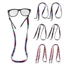 Pack of 2 Eyeglasses Holder Strap Cord Leather Eyewear String Chain Glasses Lany