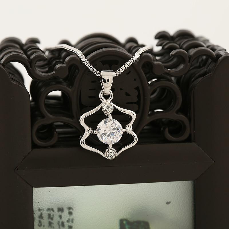 WAN JIE SHI PIN 12 konstelasi Pendant kalung Pendek inlay zircon - Perhiasan fashion - Foto 3