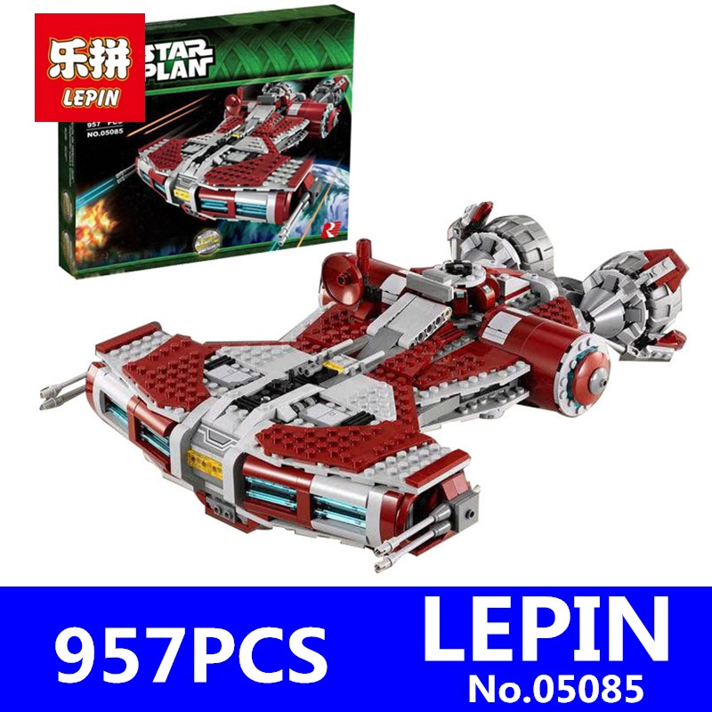 Jedi Defender Class Cruiser Set LEPIN 05085 957Pcs Star Series Wars Building Blocks Bricks Toys for Children Gift 75025 велосипед dewolf j12 boy 2017