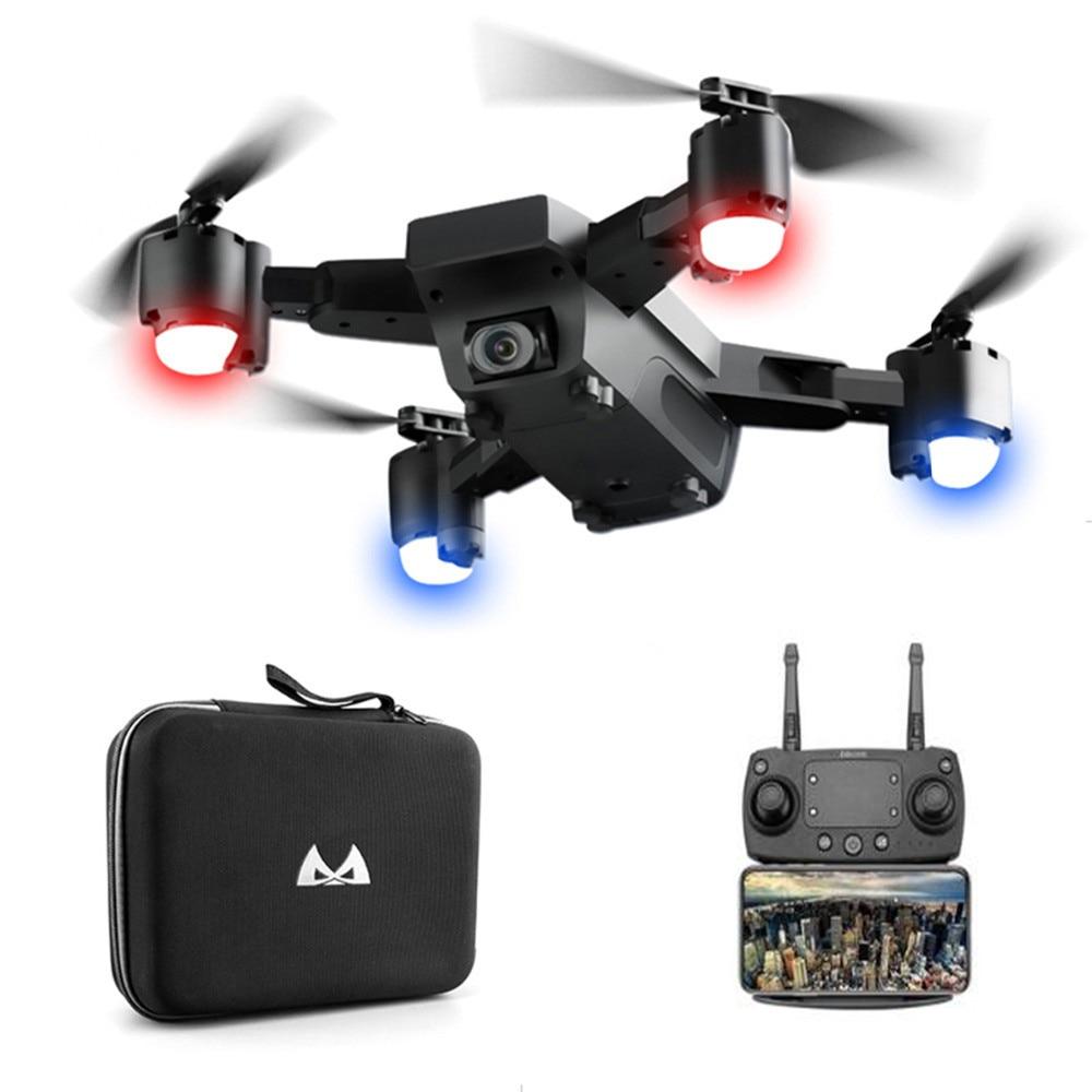 Горячая Распродажа FPV RC Дрон с живым видео и возвратом домой складной RC с камера Full HD Квадрокоптер возвращение домой складная игрушка