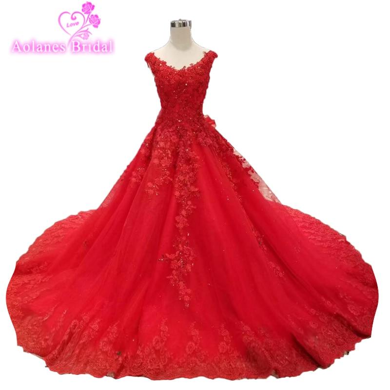 Robes De 15 Anos cristaux dentelle rouge Quinceanera robes 2019 douce 16 robes robes De bal robe De Debutante strass 15 ans