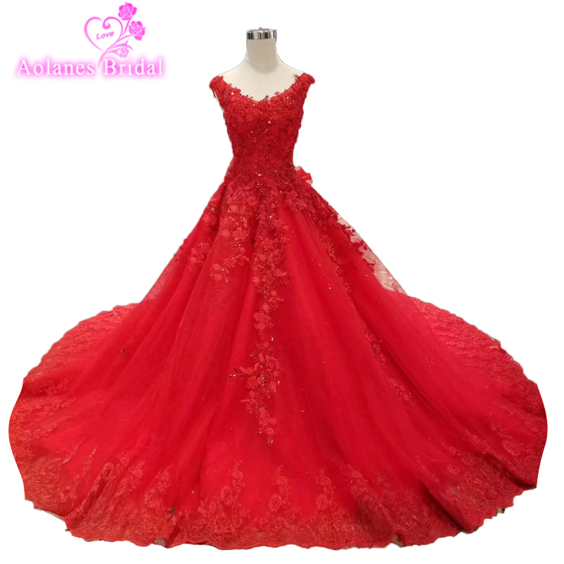 79c4cc4ff3f2a Detail Feedback Questions about Vestidos De 15 Anos Crystals Red ...