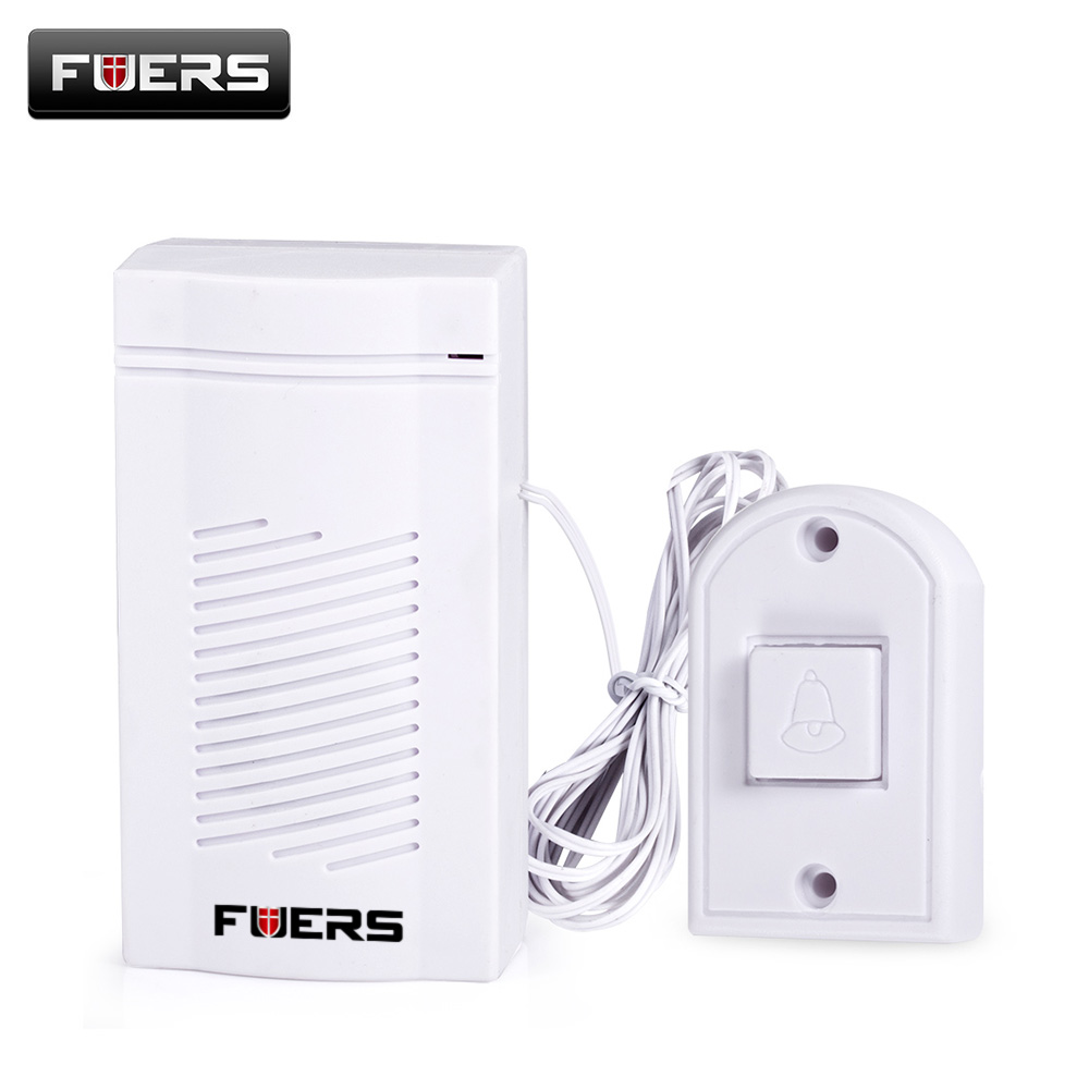 Dc 12v Wired Doorbell Vocal Chime For Home Office Security Access Wiring Fuers Simple Design Alarm Loud Sound Volume Door Bell Ding Dong Doorbells