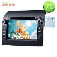 Seicane 2DIN DVD Player 7 Android 8.0 Radio Bluetooth GPS system for 2007 2008 2009 2010 2011 2017 Fiat Ducato Support SD DVR