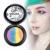 Arco iris de Colores Brillo Paleta de Sombra de Cosméticos Ojo Highlighter Maquillaje Herramienta Maquillaje Moda sombra de ojos Set para las mujeres Y2