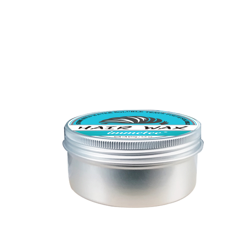 IMMETEE New Product Hair Color Wax For Men Women Hair Styling Transparent Hair Styling Wax White 150g in Pomades Waxes from Beauty Health