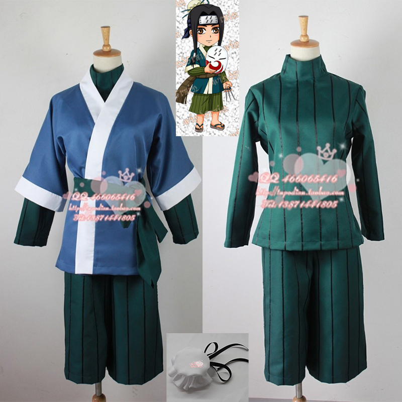 Envío Gratis anime NARUTO Cosplay ropa traje Haku cos disfraces kimono  japonés para mujeres hombres chaqueta + Camisa + pantalones + correa +  headwear ee58fa44561a