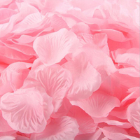 New 2016 Bulk Wholesale 1000pcs Wedding Decoration Fashion Romantic Artificial Flowers Silk Marriage Wedding Rose Petals