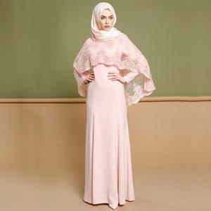 ad4494e7adfa9 AIFEIYIYI Abaya Muslim Kaftan Women Party Hijab Dress Dubai