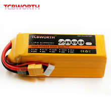 TCBWORTH battery 6S 22.2V 2800mAh 60C Max 120C RC Helicopter Lipo Battery For RC Airplane Quadrotor Drone 2800mAh RC battery 6S