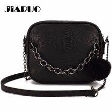 JIARUO Handbags Messenger-Bag Crossbody-Bag Chain-Design Square Small Women