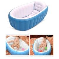 Baby Bath Tub Cushion Warm winner keep warm folding Portable bathtub inflatable bath tub ortable bathtub With Air Pump