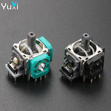 YuXi 2pcs/lot 3D Analog Joystick bstick replacement repair parts Sensor Module Potentiometer For XBOX ONE Controller Gamepad