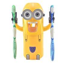 Забавные Автоматический дозатор зубная паста творческий аксессуары для ванной комнаты с присоской для ванной код Зубные пасты соковыжималка для малыша