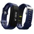 De calidad superior h28 inteligente bluetooth banda gimnasio pulsera muñequera pulsómetro táctil inteligente para iphone samsung # et850
