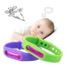 Для детей, экологичный силиконовый браслет, летний браслет от комаров, антимоскитный браслет, эффективный детский браслет