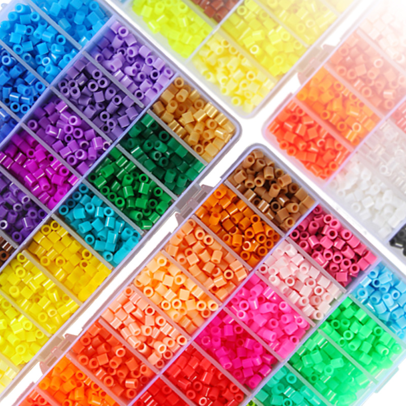 2.6/5MM 24/36/48/72colors HIGHGRADE Hama Beads Perler Beads Hama Fuse Beads Kids Toys Educational Diy Craft Color Remarks