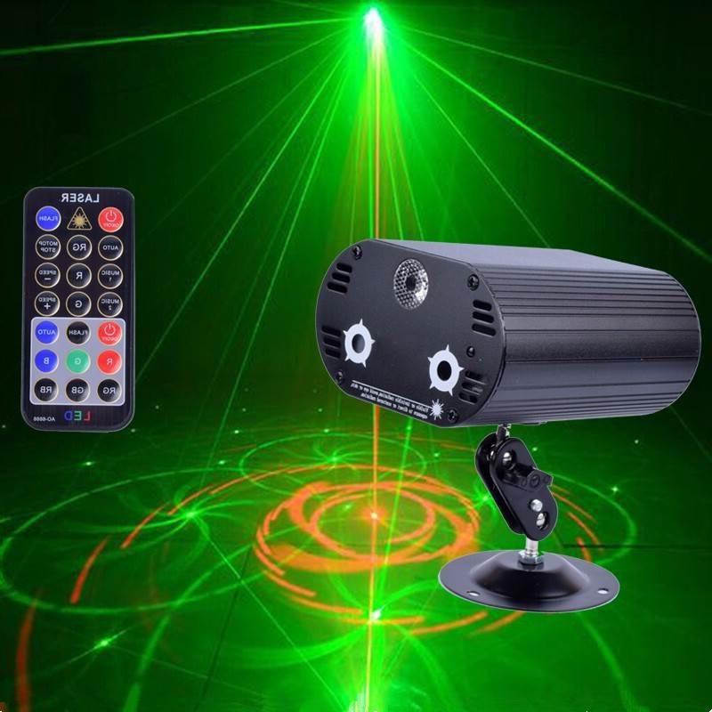 Лазерный мини проектор свет 3 линзы Лазерное освещение 36 узор Красный Зеленый лазерный светодиодный сценический свет KTV вечерние бар DJ диск