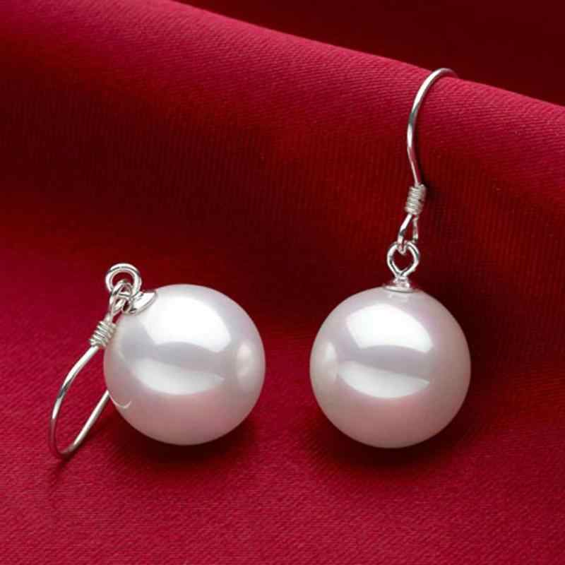 Fashion Pendant Earring Cute Earrings Elegant Female Women Long Drop Pearl Earring Party Casual Jewelry Dangle Earrings Brincos