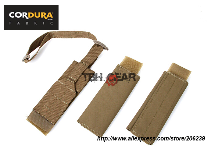 TMC Doff Kit for JPC Cordura Matte Coyote Brown Airsoft Military Tactical Gear Accessories Kits Free