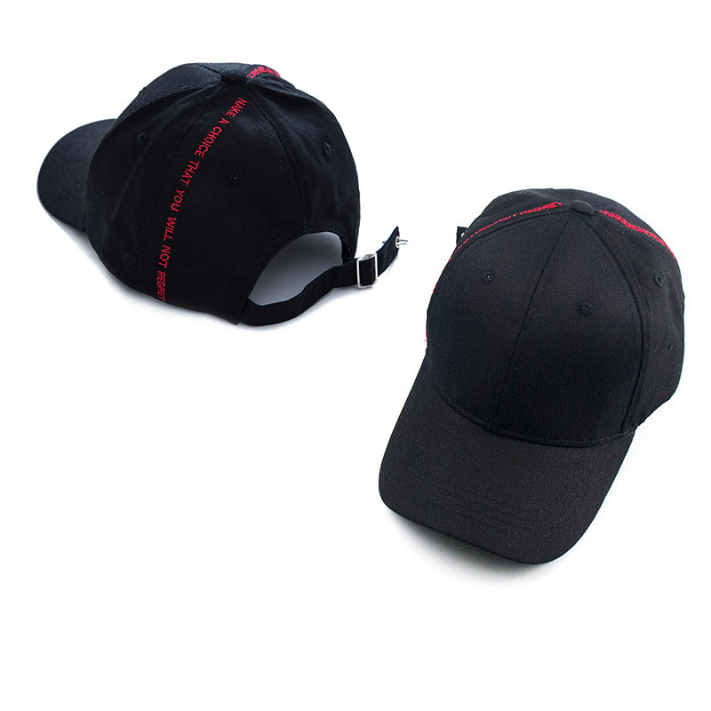 Hip Hop Tide Women Men Baseball Cap New GD Concert Caps Fashion Embroidery Long tail hats 5 Color Curved the brim of Hat C1029
