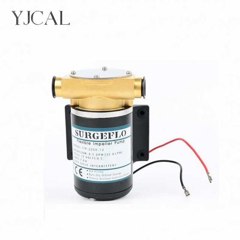 FIP-3200 12V 24V Automatic Mini Yacht Bilge Deck Cleaning Engine Cooling Self-priming Water Pump Filter Accessories fip 3200 12v 24v dc gear pump refueling self priming diesel pump miniature lubricating oil pumping pump mini filter accessories