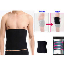 Mens Male New Slimming Lift Body Shaper Tummy Belt Underwear Waist Support Black Free Shipping