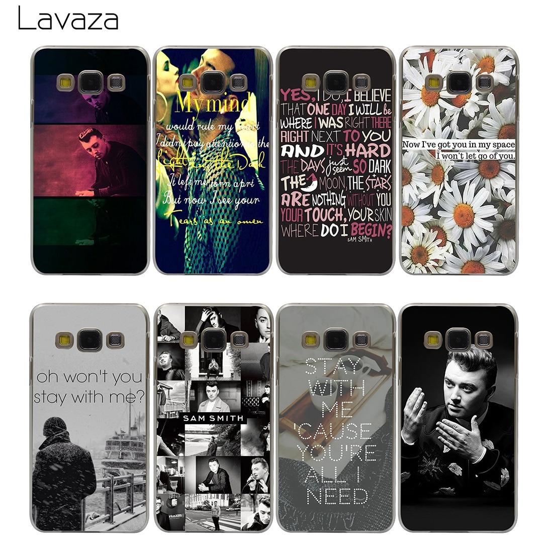 Lavaza Sam Smith Case for Samsung Galaxy A3 A5 A8 J1 J2 J3 J5 J7 Prime 2016 2017 2018 Note 5 8