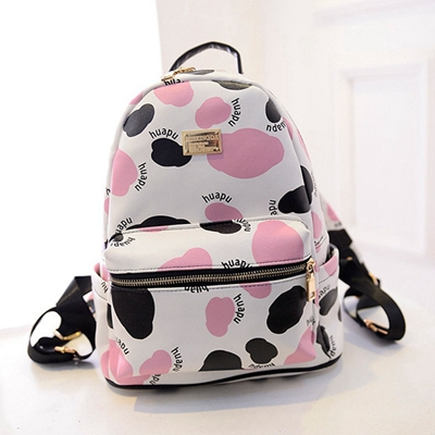 Teenage School Bags For Girls 2015 New Designer Backpacks Milk Cow ...