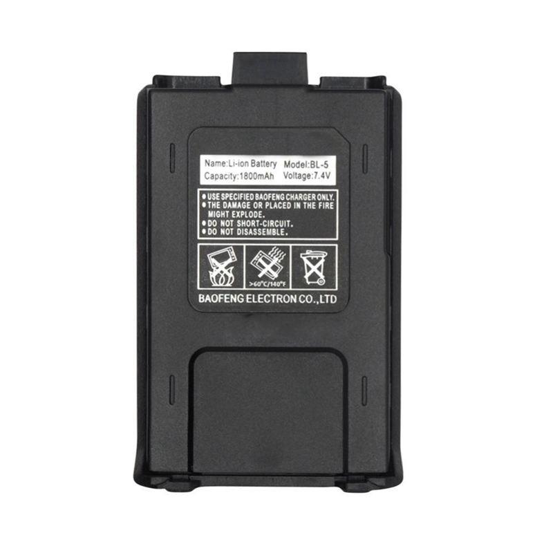 800mah BL-5 Original Li-Ion Baofeng uv5r Battery For Radio Walkie Talkie Accessories UV 5R Uv-5re 5ra Uv 5r