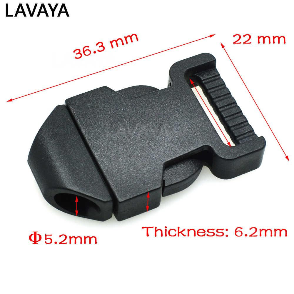 """1 pcs 5/8 """"Plastic Side Lançamento Fivelas Backpack Correias Para Paracord esportes Ao Ar Livre saco Webbing 16mm Preto"""