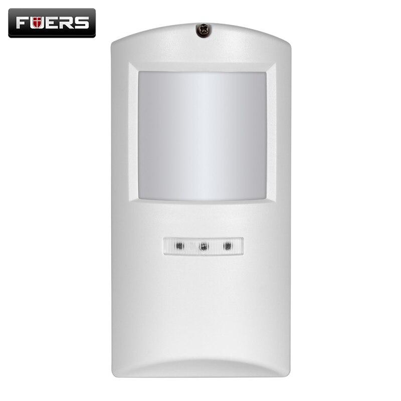 imágenes para Wireless Admite Mascotas Detector de movimiento PIR Sensor de Movimiento de Alarma A Prueba de agua Al Aire Libre para Kerui 8218G, G2 y wifi de alarma sistema G90B