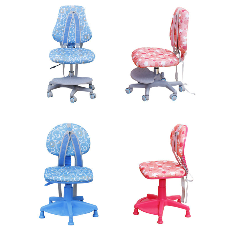 Household Kids Study Chairs Multifunction Safety Children Writing Stool Student Seat Soft Lifted Sitting Posture Correction