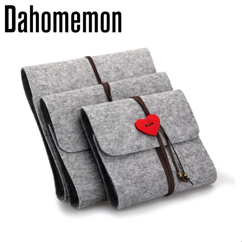 5,10,12 inch Felt Cover Handmade DIY Vintage Photo Album 30 Black Sheets Can ADD Home Decoration Birthday Pens Gift Love Heart(China)