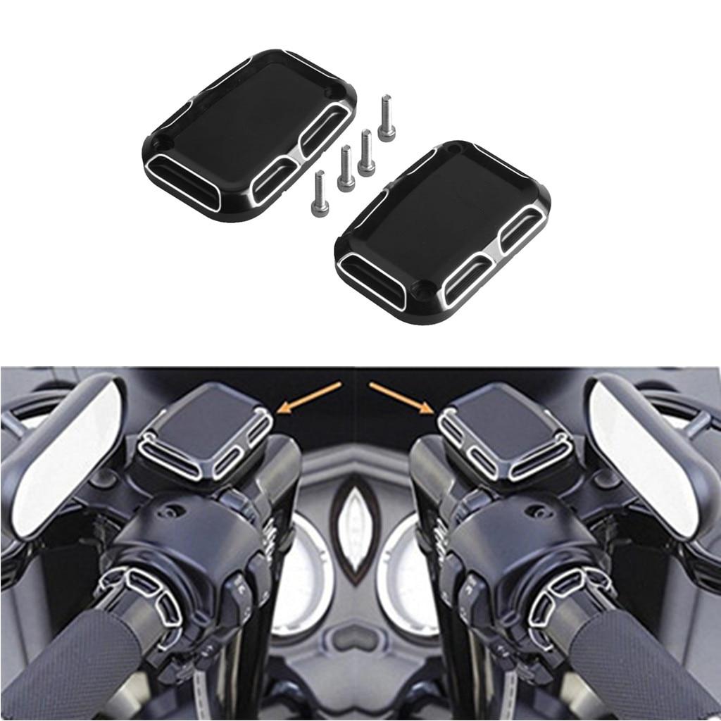 Brake Reservoir Right-Motor Harley 2x for FLH Street VRSCAW V-Spindle Muscle-07-10 Cylinder-Cover