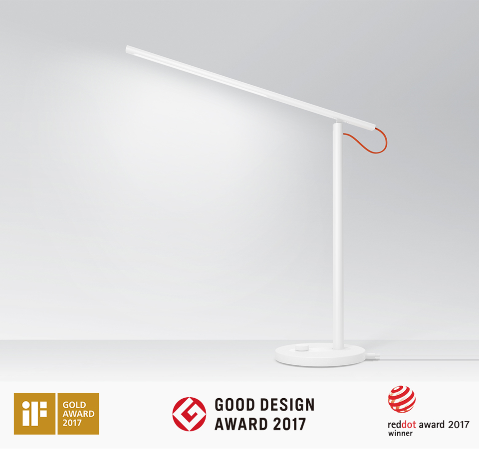 Xiaomi Mijia Mi Smart LED Desk Lamp Table Lamp Dimming Reading Light WiFi Enabled Work with AMZ Alexa IFTTT (1)