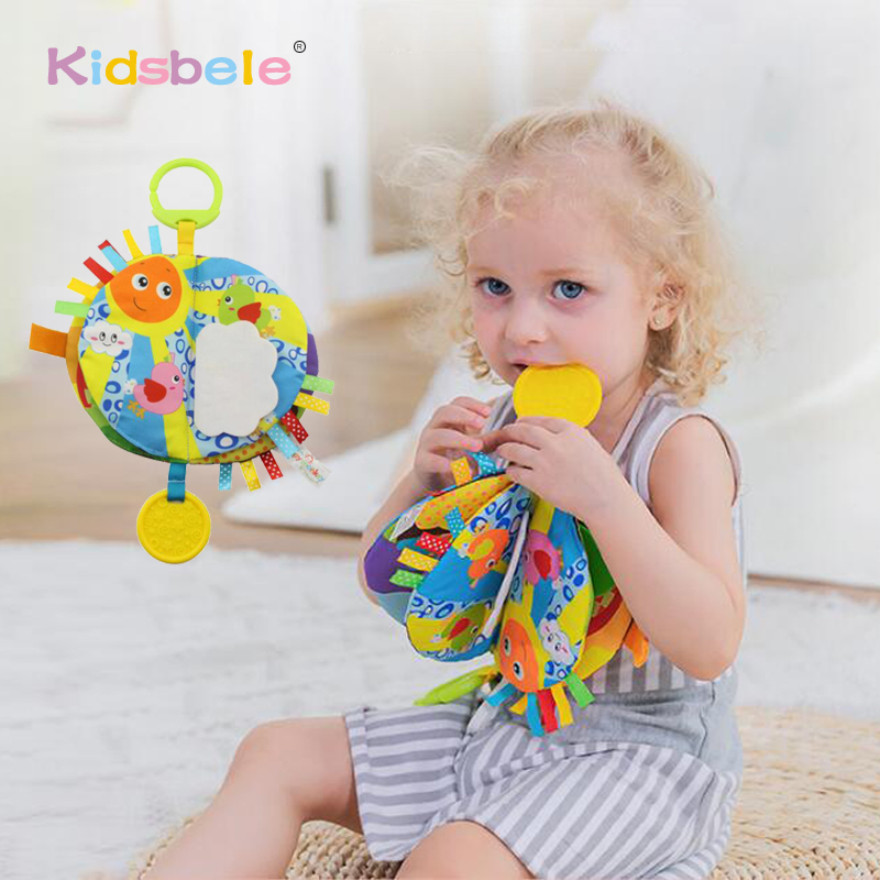 Baby Educational Toys Cloth Book Rustling Coloring Early Learning Toys For Children Toddler Toys 0 12 24 Months Hanging Baby Toy-in Baby Rattles & Mobiles from Toys & Hobbies