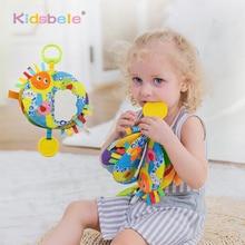 Brinquedos educativos para bebês, pano, livro, brinquedo de coloração, aprendizagem precoce para crianças pequenas, brinquedos para crianças de 0 de 12 24 meses de pendurar bebê brinquedo,