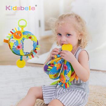 Zabawki edukacyjne dla dzieci szelest książki kolorowanki zabawki do wczesnej edukacji dla dzieci zabawki dla malucha 0 12 24 miesięcy wisząca zabawka dla dziecka tanie i dobre opinie Kidsbele Plush CN (pochodzenie) Unisex TOYB400 3 lat 13-24 miesięcy 0-12 miesięcy Zwierząt Oddziela SOFT Nadziewane