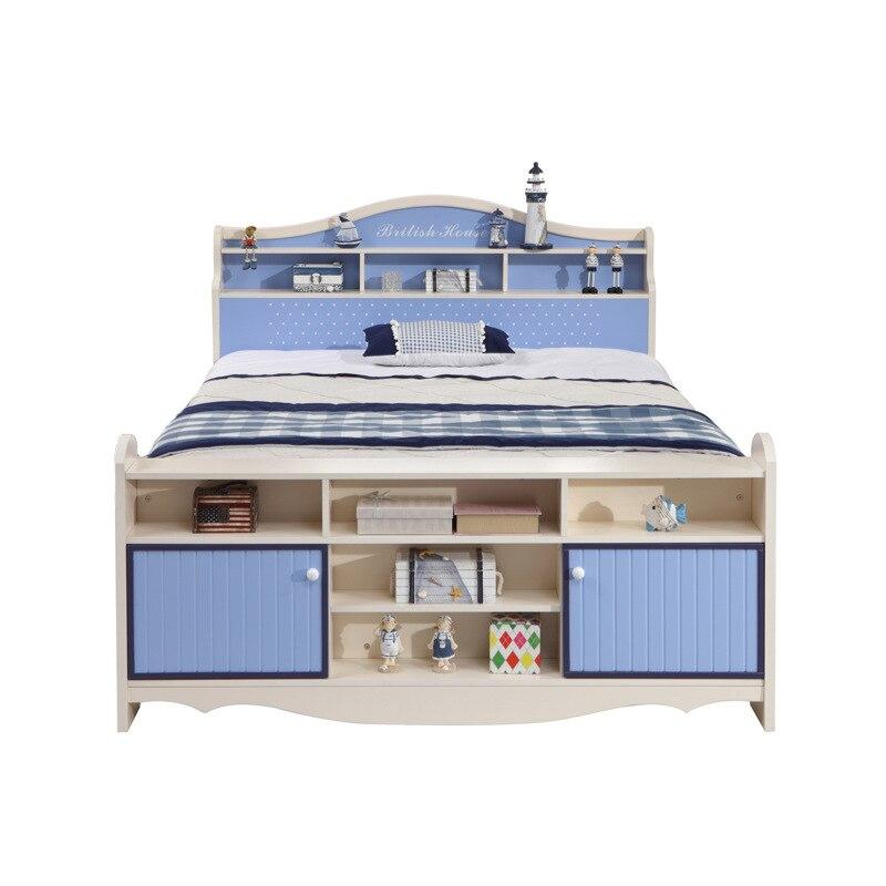 Einzelbett kinder  Kinder Bett, jungen Einzelbett, teenager Prinz Bett, 1,2/1,5 Meter ...