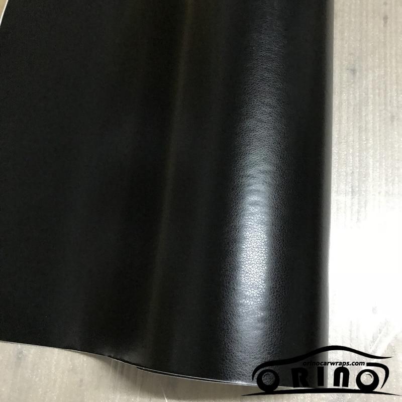 black leather vinyl film sticker-1