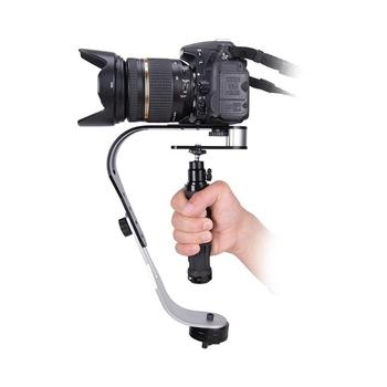 Aparat typu Bow ręczny aparat wideo DV stabilizator dla Gopro DSLR aparat cyfrowy SLR Sport DV aluminiowy stabilizator aparatu tanie i dobre opinie ALLOYSEED Przewodowy Single Handgrip 160*100*40mm 6 29*3 93*1 57 1000 g Camera Stabilizer Pakiet 1