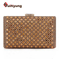 New Women's Diamond Clutch Bag Party Evening Bags Fashion Bling Crystal Wedding Day Clutch Small Purse Wallet Ladies Handbags