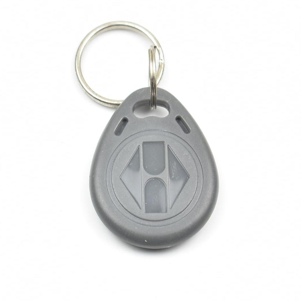 100pcs/bag RFID key fobs 125KHz EM4305 proximity ABS tags read and write rewritable duplicator copier access control цена