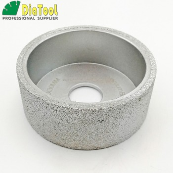 diatool dia75mmx30mm hand held grinding wheel vacuum brazed diamond flat grinding wheel profile wheel for stone artificial stone DIATOOL Dia75mmX30mm Hand-held Grinding Wheel Vacuum Brazed Diamond Flat Grinding Wheel Profile Wheel For Stone Artificial Stone