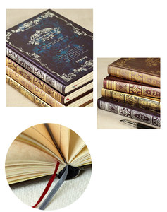 """Image 5 - """"Magic Book"""" Hard Cover Vintage Retro Notebook Journal Diary Freenote Beautiful Stationery Gift"""