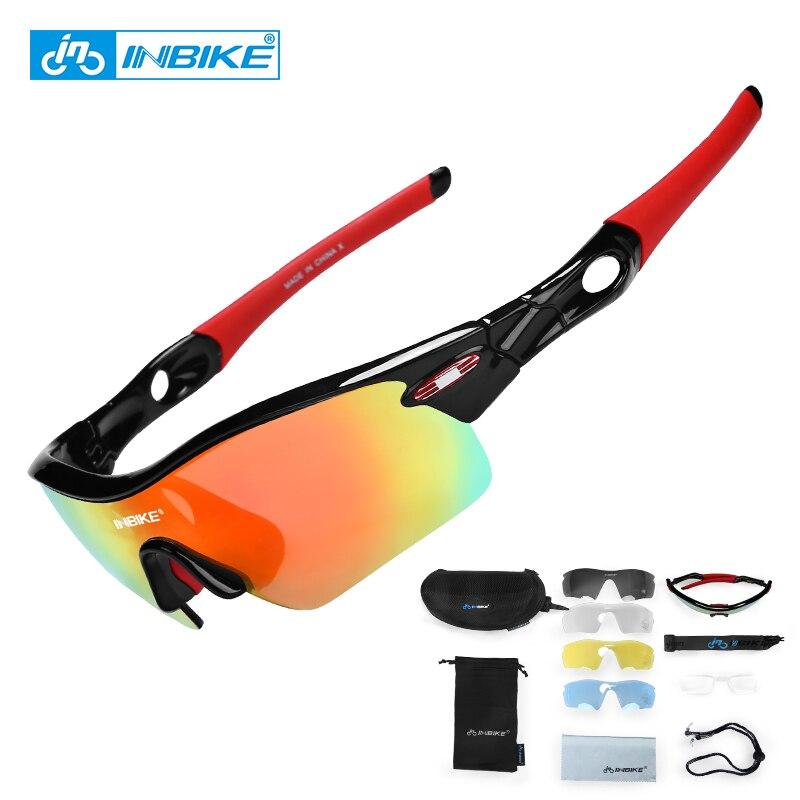 INBIKE Polarizado Ciclismo Gafas Gafas de Bicicletas Bike Las Gafas de sol Gafas Gafas Ocular Gafas Gafas Gafas UV Prueba ciclismo911
