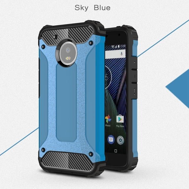 watch 0cacb dfb6b US $2.69 35% OFF|Heavy Duty Armor Case For Motorola Moto G5 Plus Case  Hybrid Silicon Rubber Cover For Motorola G5 Plus Case For Moto G5 Plus  Case-in ...