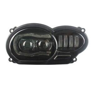 Image 4 - Led ヘッドライトアセンブリ新オートバイライト照明 DRL ミニタッチデジタイザースクリーン BMW R1200GS 2008 2009 2010 2011 保護カバー