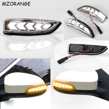 цена на 2Pcs LED Dynamic Turn Signal Rear Mirror Indicator Light For Toyota Camry Corolla Prius C Venza Avalon Vios Yaris Altis Scion iM